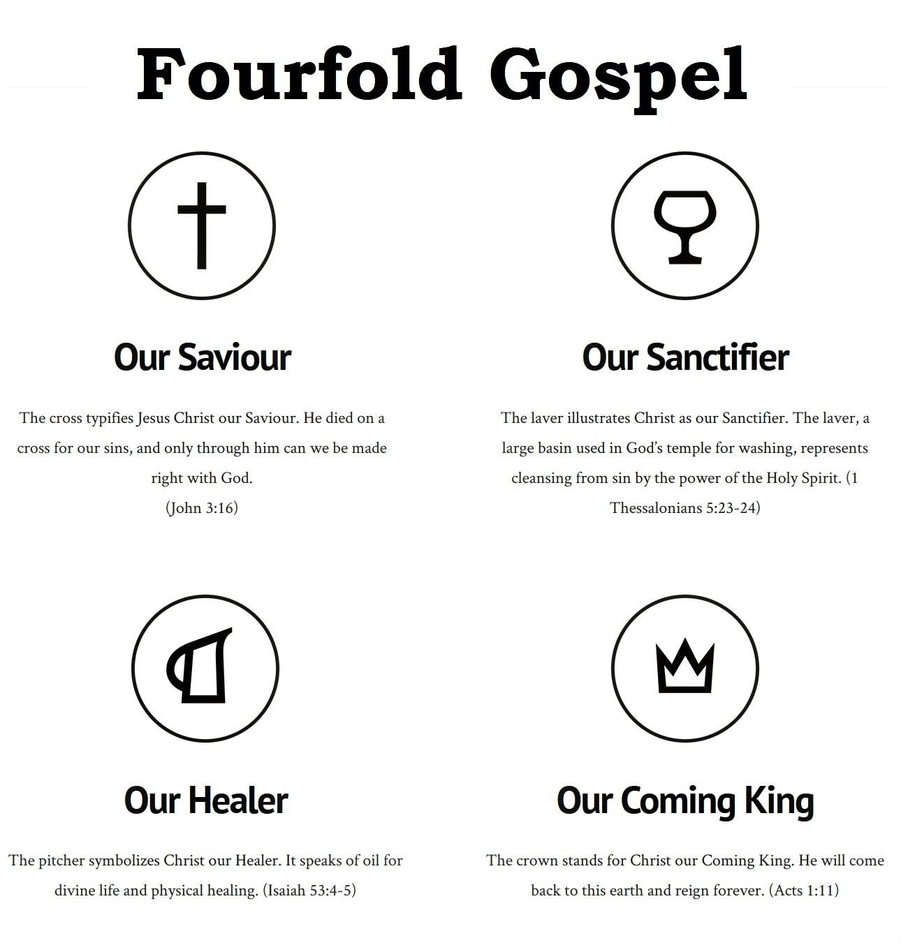 Fourfold Gospel photo